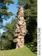 Эстония, замок Вана-Вастселийна, фото № 6574048, снято 5 сентября 2014 г. (c) Борис Заманский / Фотобанк Лори