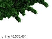 Купить «Digitally generated fir tree branches», фото № 6576464, снято 25 мая 2020 г. (c) Wavebreak Media / Фотобанк Лори