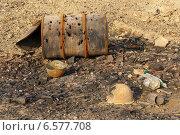 Украина, следы боев в районе Мариновки (2014 год). Стоковое фото, фотограф Копылов Сергей / Фотобанк Лори