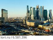 Москва Сити (2014 год). Редакционное фото, фотограф Иван Вислов / Фотобанк Лори