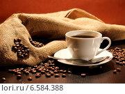 Купить «Кофейная композиция», фото № 6584388, снято 25 октября 2014 г. (c) Виктор Топорков / Фотобанк Лори