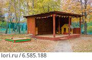 Веранда в детском саду (2014 год). Стоковое фото, фотограф Анастасия Козлова / Фотобанк Лори