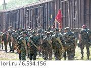 Проводы в Чечню (2011 год). Редакционное фото, фотограф Анатолий Шулепов / Фотобанк Лори
