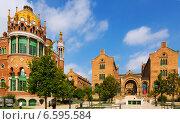 Купить «Hospital of Holy Cross and Saint Paul in Barcelona», фото № 6595584, снято 13 сентября 2014 г. (c) Яков Филимонов / Фотобанк Лори