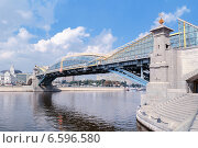 Купить «Мост Богдана Хмельницкого», фото № 6596580, снято 19 января 2019 г. (c) Зезелина Марина / Фотобанк Лори
