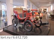 Купить «Старинный автомобиль в Кельнском городском музее (Koelnisches stadtmuseum)», фото № 6612720, снято 1 августа 2014 г. (c) Иванова Анастасия / Фотобанк Лори