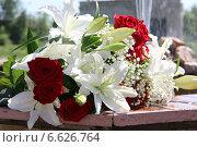 Купить «Букет цветов», фото № 6626764, снято 24 мая 2014 г. (c) Руслан Шакуров / Фотобанк Лори