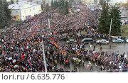 Купить «Евромайдан», фото № 6635776, снято 23 февраля 2014 г. (c) Николай Комаровский / Фотобанк Лори