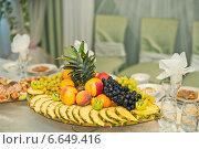 Сервированный стол. Стоковое фото, фотограф Алёна Замотаева / Фотобанк Лори