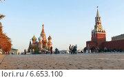 Купить «Красная Площадь в Москве», видеоролик № 6653100, снято 19 сентября 2014 г. (c) Серёга / Фотобанк Лори