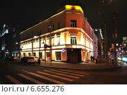 Купить «Валовая улица, 32/75. Москва», эксклюзивное фото № 6655276, снято 11 ноября 2014 г. (c) lana1501 / Фотобанк Лори