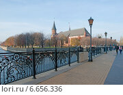 Купить «Набережная. Калининград», эксклюзивное фото № 6656336, снято 4 ноября 2014 г. (c) Svet / Фотобанк Лори