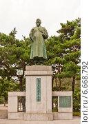 Купить «Памятник корейскому борцу за независимость Son Byong-hi (1861-1922) в Сеуле, Южная Корея», фото № 6668792, снято 27 сентября 2014 г. (c) Иван Марчук / Фотобанк Лори
