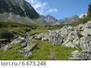 Походная тропа в долине Баргузинского хребта. Стоковое фото, фотограф Пыткина Альбина / Фотобанк Лори