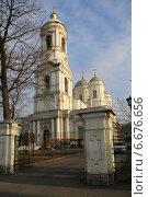 Купить «Князь-Владимирский собор в Санкт-Петербурге», фото № 6676656, снято 17 ноября 2014 г. (c) Александр Секретарев / Фотобанк Лори
