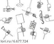 Руки. Стоковая иллюстрация, иллюстратор Борисенко Анастасия / Фотобанк Лори