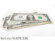 Банкноты доллары. Стоковое фото, фотограф Николай Фролочкин / Фотобанк Лори