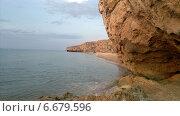 Купить «Скалистое побережье Азова», фото № 6679596, снято 17 августа 2018 г. (c) Светлана / Фотобанк Лори