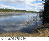Река Суда. Стоковое фото, фотограф Сергей Скрипко / Фотобанк Лори