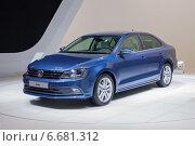 Купить «Volkswagen Jetta на ММАС 2014», фото № 6681312, снято 3 сентября 2014 г. (c) Алексей Назаров / Фотобанк Лори