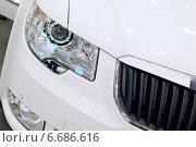 Фрагмент автомобиля Skoda (2013 год). Редакционное фото, фотограф Лукаш Дмитрий / Фотобанк Лори