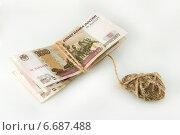 Купить «Экономический кризис. Бремя денег. Падение рубля в цене», фото № 6687488, снято 20 ноября 2014 г. (c) Ирина Геращенко / Фотобанк Лори