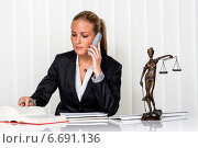 Купить «businesswoman in office», фото № 6691136, снято 13 ноября 2018 г. (c) Erwin Wodicka / Фотобанк Лори