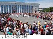 Купить «День города Ульяновска», фото № 6693384, снято 12 июня 2008 г. (c) Алексей Жданов / Фотобанк Лори