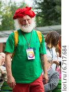 Купить «Вячеслав Полунин», эксклюзивное фото № 6717684, снято 6 сентября 2014 г. (c) Михаил Ворожцов / Фотобанк Лори