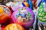 Новогодние елочные шарики с символом 2015 года - овечкой, эксклюзивное фото № 6729672, снято 28 ноября 2014 г. (c) lana1501 / Фотобанк Лори