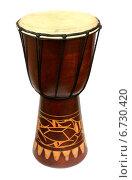 Африканский барабан. Стоковое фото, фотограф Винокуров Александр / Фотобанк Лори