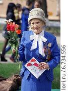 Купить «Труженица тыла военных лет», фото № 6734556, снято 9 мая 2014 г. (c) Ольга Вьюшкова / Фотобанк Лори