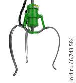 Купить «Манипулятор металлического робота», иллюстрация № 6743584 (c) Илья Урядников / Фотобанк Лори