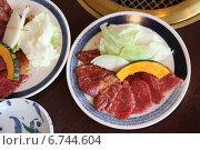 Купить «Мраморная говядина горы Дайсен. Япония», фото № 6744604, снято 12 октября 2010 г. (c) Gagara / Фотобанк Лори