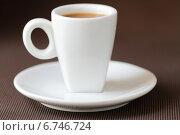 Купить «Кофе эспрессо», фото № 6746724, снято 1 июня 2013 г. (c) Елена Корнеева / Фотобанк Лори