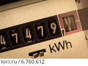 Купить «electric meter», фото № 6760612, снято 20 августа 2018 г. (c) Erwin Wodicka / Фотобанк Лори