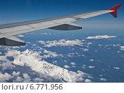 Купить «Под крылом самолета Доломитовые Альпы», фото № 6771956, снято 5 мая 2014 г. (c) Наталья Волкова / Фотобанк Лори