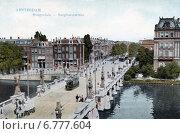 Купить «Мост Hogesluis через реку Амстел и улица Sarphatistraat в Амстердаме. Голландия», фото № 6777604, снято 27 мая 2019 г. (c) Юрий Кобзев / Фотобанк Лори