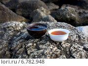 Чайные пиалы. Стоковое фото, фотограф Юдин Владимир / Фотобанк Лори