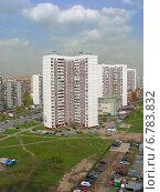 Купить «Район Новокосино в Москве весной», эксклюзивное фото № 6783832, снято 26 апреля 2012 г. (c) lana1501 / Фотобанк Лори