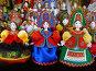 Авторские куклы ручной работы. ГУМ-ярмарка на Красной площади в Москве, эксклюзивное фото № 6799452, снято 12 декабря 2014 г. (c) lana1501 / Фотобанк Лори