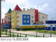 Купить «Детский сад в городе Хвалынске», фото № 6800884, снято 12 июня 2014 г. (c) Anna Kavchik / Фотобанк Лори