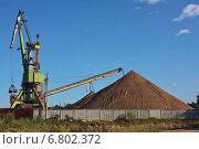 Добыча песка (2014 год). Редакционное фото, фотограф Измайлов Андрей Владимирович / Фотобанк Лори
