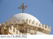 Купол храма в лавре святого Феодосия. Святая Земля. Стоковое фото, фотограф Алексей Братчик / Фотобанк Лори