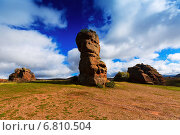 Red rocks at Alto Tajo (2014 год). Стоковое фото, фотограф Яков Филимонов / Фотобанк Лори