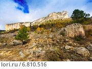 Rocks at Alto Tajo in autumn (2014 год). Стоковое фото, фотограф Яков Филимонов / Фотобанк Лори