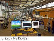 Купить «Berlin, Germany, Helmholtz-Zentrum, Berlin electron storage ring company for synchrotron BESSY II», фото № 6815472, снято 11 мая 2012 г. (c) Caro Photoagency / Фотобанк Лори