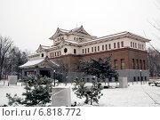 Купить «Сахалинский государственный областной краеведческий музей», фото № 6818772, снято 11 декабря 2014 г. (c) Андрей / Фотобанк Лори