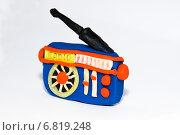 Пластилиновый радиоприемник. Стоковое фото, фотограф Анастасия Козлова / Фотобанк Лори