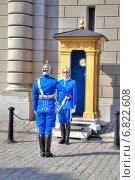 Купить «Смена караула около королевского дворца. Швеция. Стокгольм.», фото № 6822608, снято 29 апреля 2013 г. (c) Parmenov Pavel / Фотобанк Лори